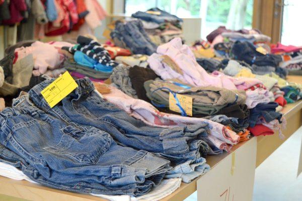 Rummage sale clothes 2